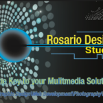 Rosario Designs Business Card Front