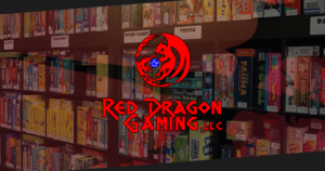Rosario Designs Red Dragon Gaming Block