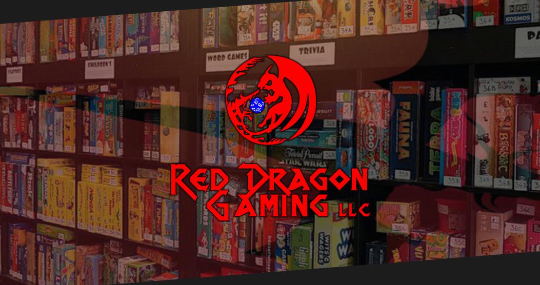 Rosario Designs Red Dragon Gaming Block