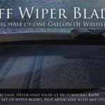Motorwerks BMW Wiper Ad