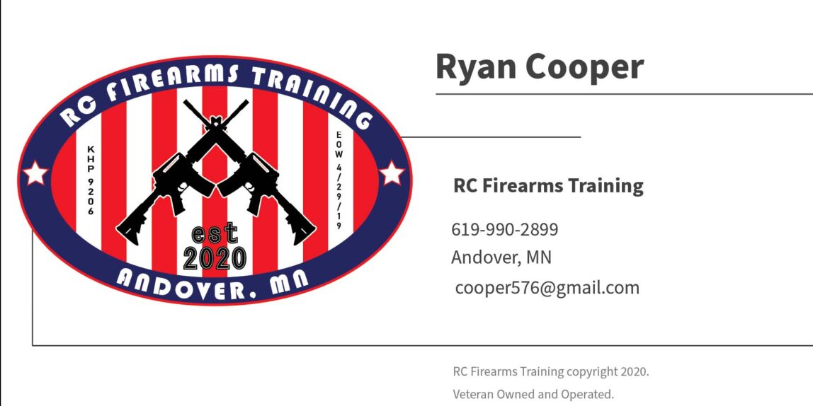 RC Firearms_Business Card_Front